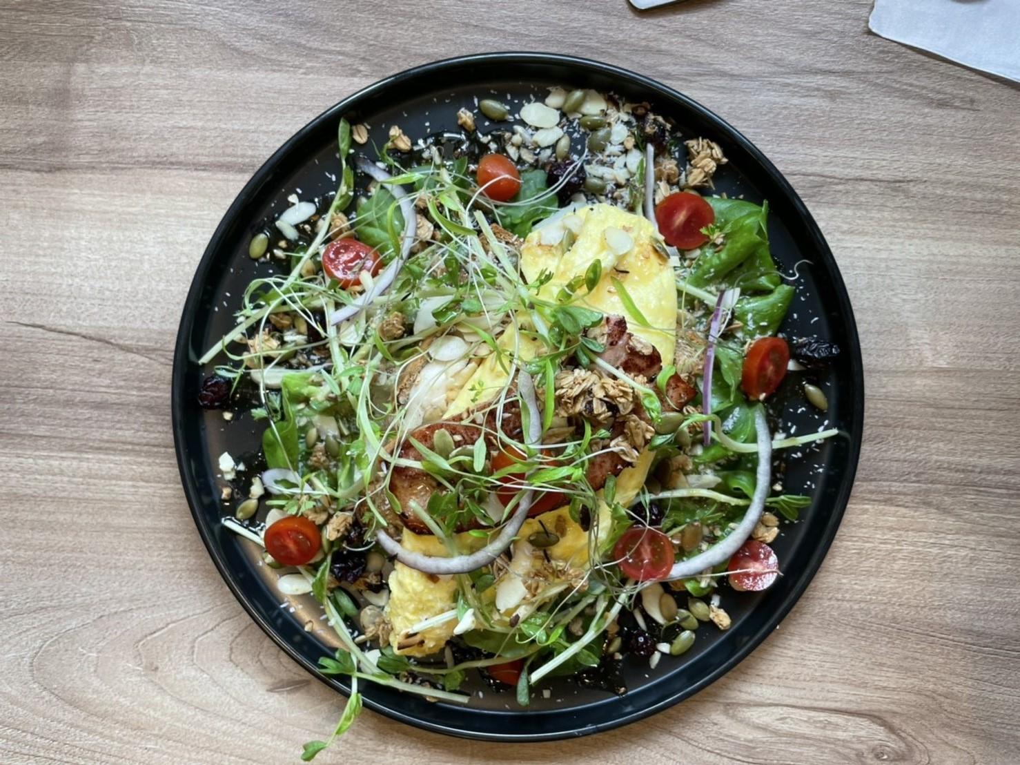 豐原餐廳-晨間食光 Le matin-大口吃生菜